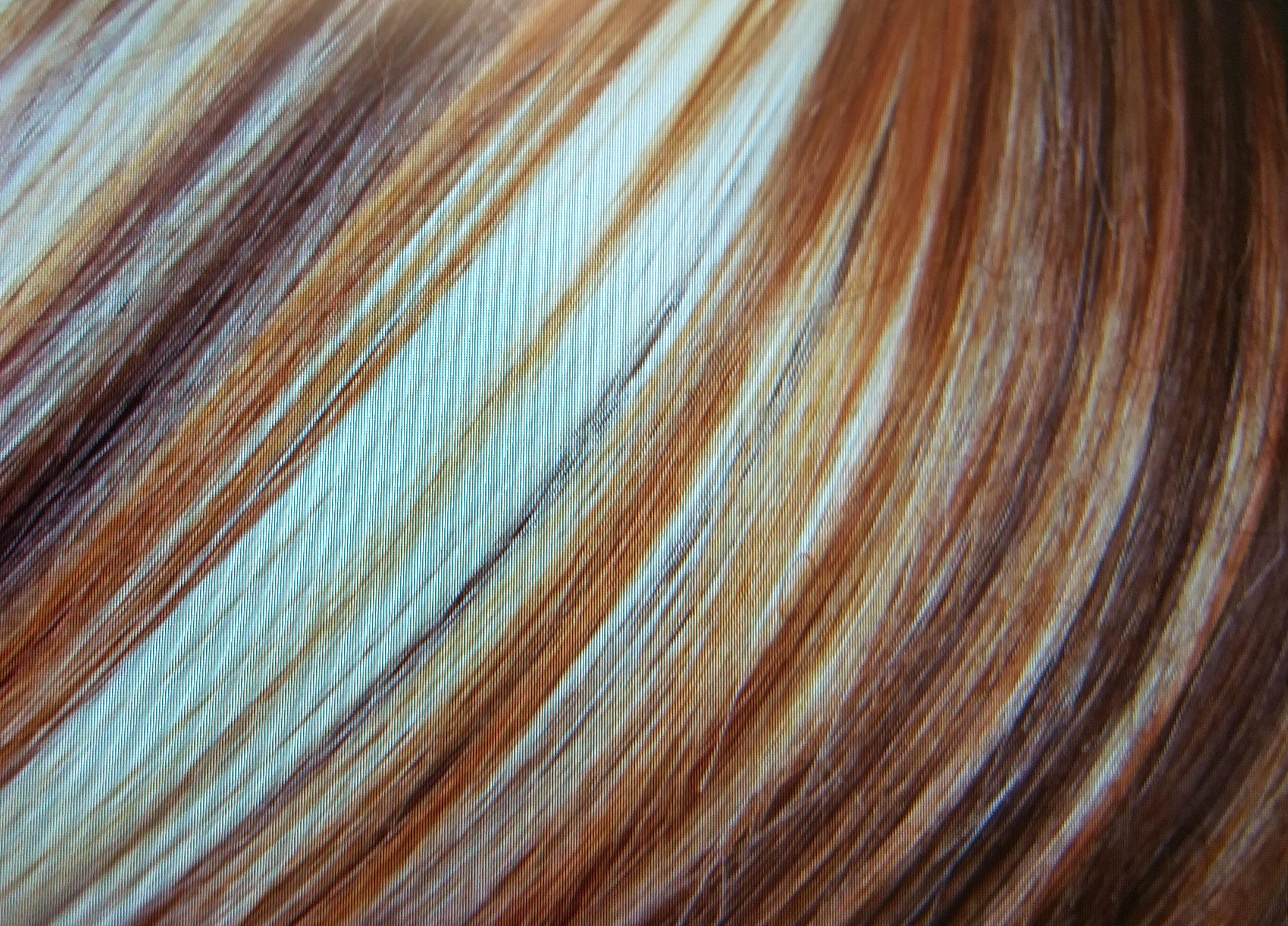 Langhaardesign, Colorationstechniken am Haar
