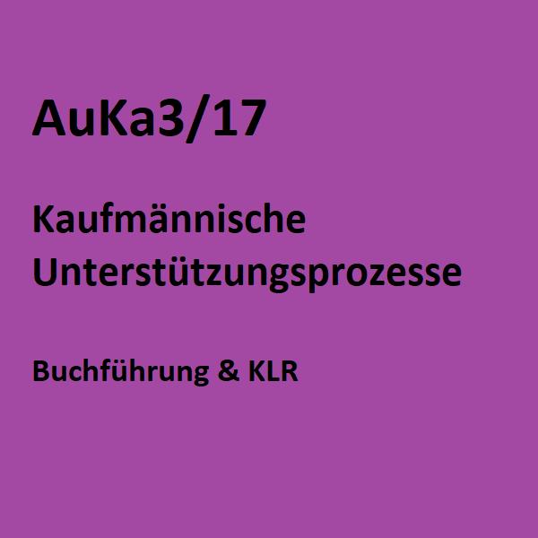 AuKa3/17 - Buchführung & KLR